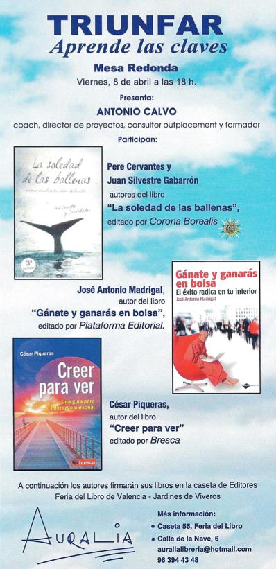 presentación libros valencia