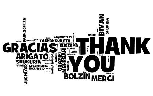 importancia de dar las gracias