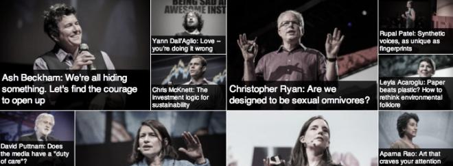 mejores conferencias TED