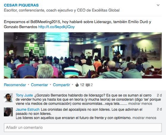 Conferencia Gonzalo Bernardos