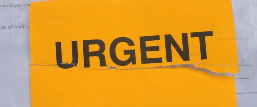evitar las tareas urgentes