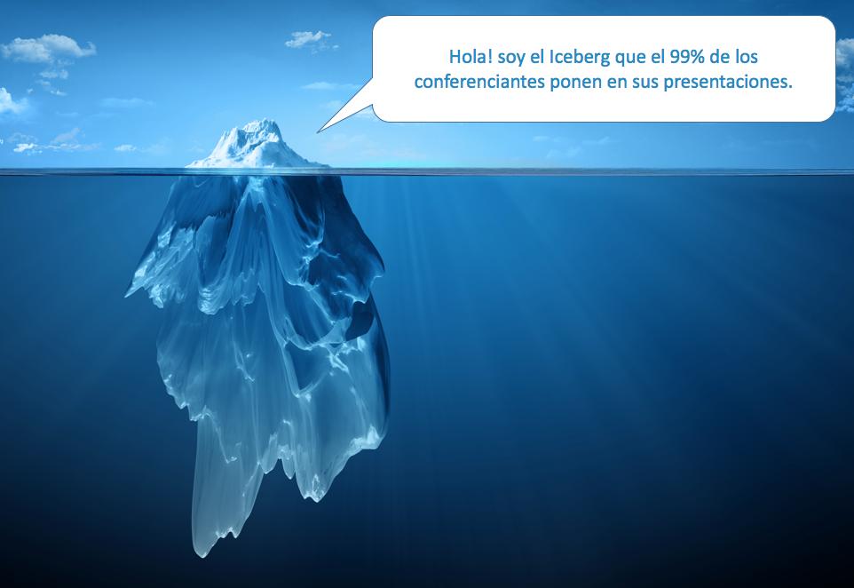 iceberg de la comunicacion