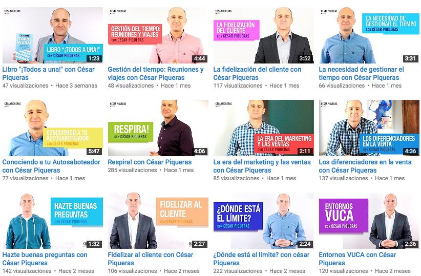 youtube cesar piqueras