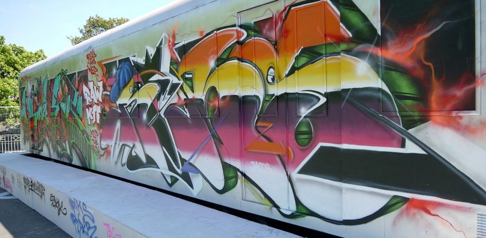 pintadas en metro