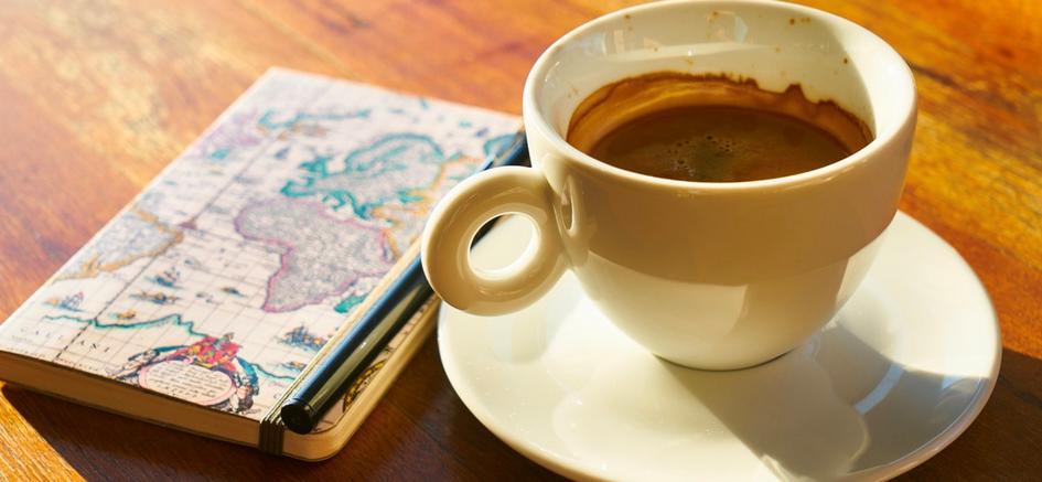cafe para el desayuno