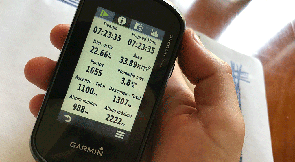 distancias garmin dia 2