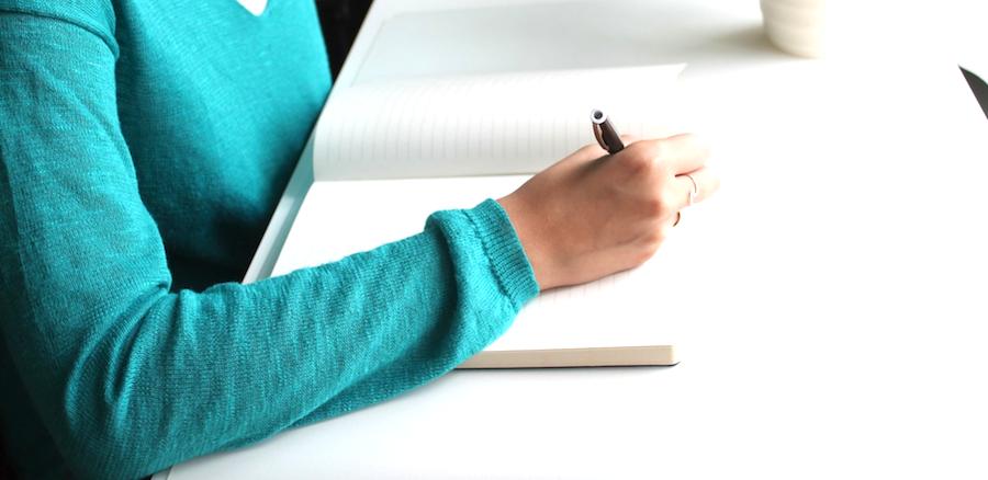 la terapia de escribir