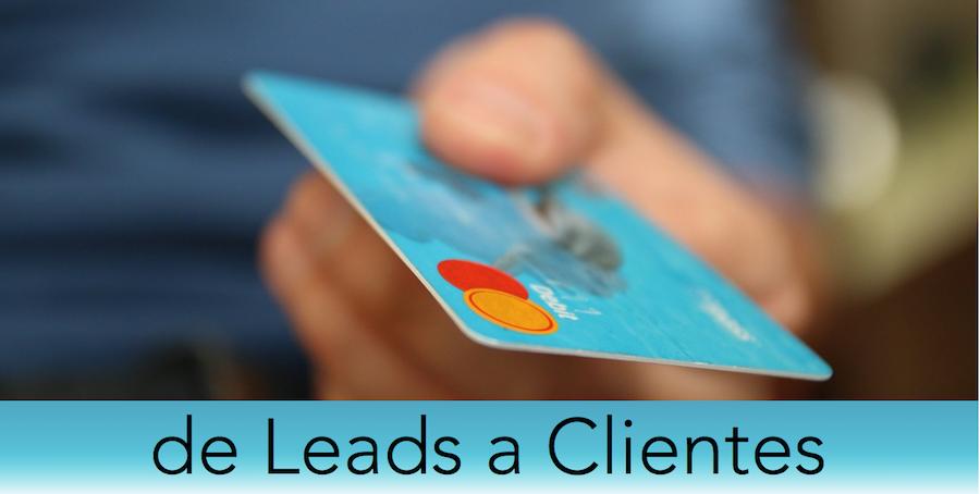 pasar de leads a clientes