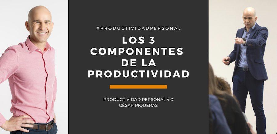 Componentes de la productividad