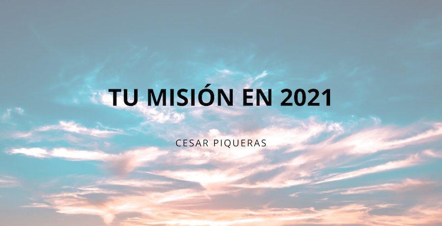 tu mision en 2021